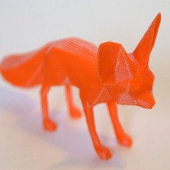 Free 3d printer files Fennec Fox, Cults