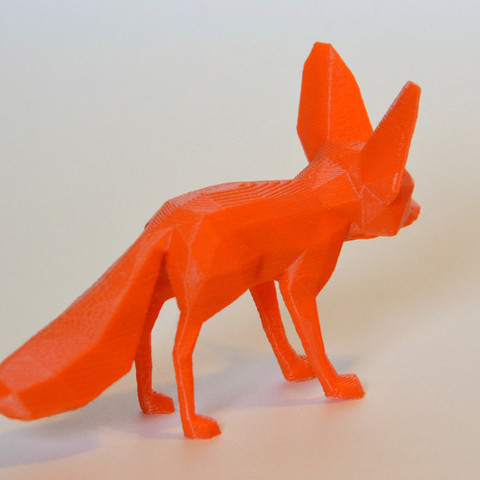 DSC_1508_display_large-1.jpg Download free STL file Fennec Fox • Model to 3D print, Cults