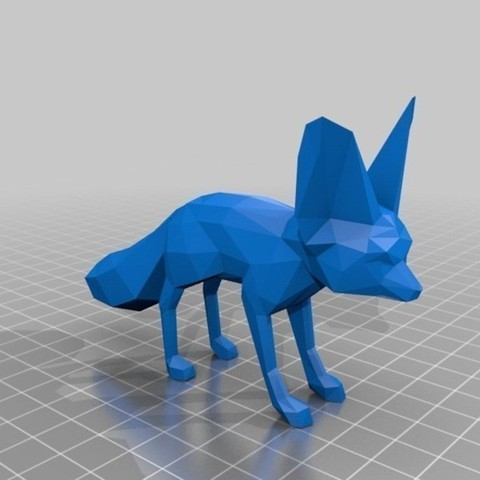 Fennec_Fox_preview_featured.jpg Download free STL file Fennec Fox • Model to 3D print, Cults
