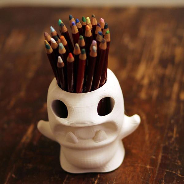 penmunst_display_large.jpg Download free STL file Pencilpot Monster • 3D printable object, Cults