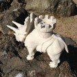 Free 3d printer model Battle dinosaur 1, Cults