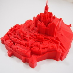 Free 3D printer designs Mont Saint Michel, Cults