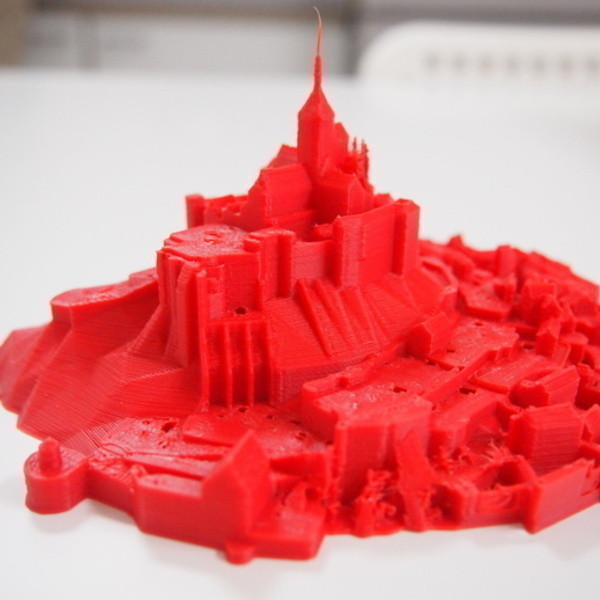 P7176876_preview_featured.jpg Download free STL file Mont Saint Michel • 3D printable model, Cults