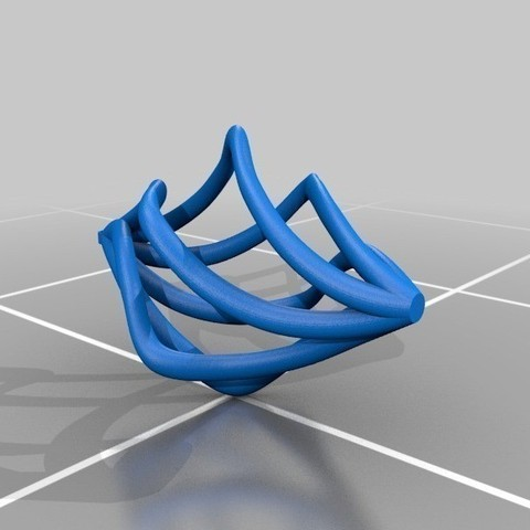 spiral_earing-cults-mizchief100_4.jpg Download free STL file Spiral Earring • 3D printable model, Cults