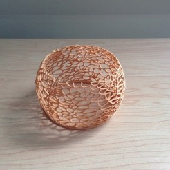 Free 3D printer designs Coral Candle Fixture, Cults