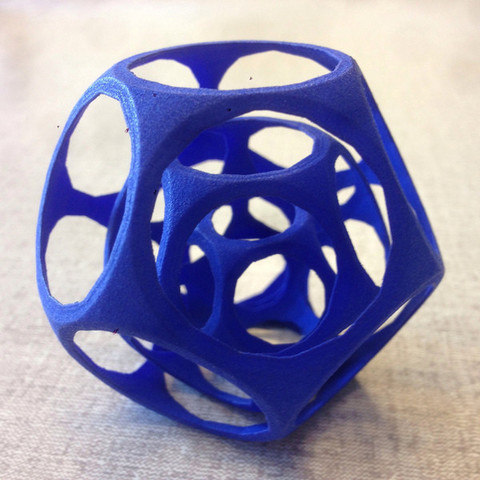 Download free 3D printing designs Dodecahedron Gyro, Cults