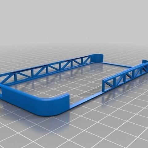 Bumper_iPhone_5_truss_Dakodadesign_cults_3D_2.jpg Download free STL file Bumper iPhone 5 • 3D printing design, Cults