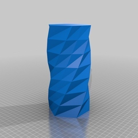 Twisted_6-sided_Vase_Basic_MaakMijnIdee_cults_3D_3.jpg Download free STL file Twisted Vase • 3D printer template, Cults