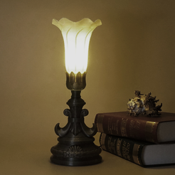 Free stl Classical table lamp, Toolmoon