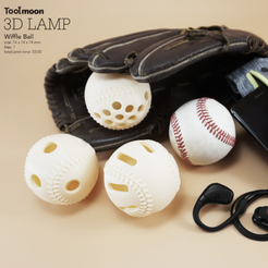 Download free 3D printing models Wiffle Ball, Toolmoon