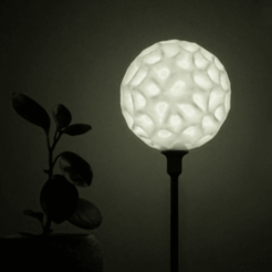Download free STL Simplicity style03 lamp, Toolmoon