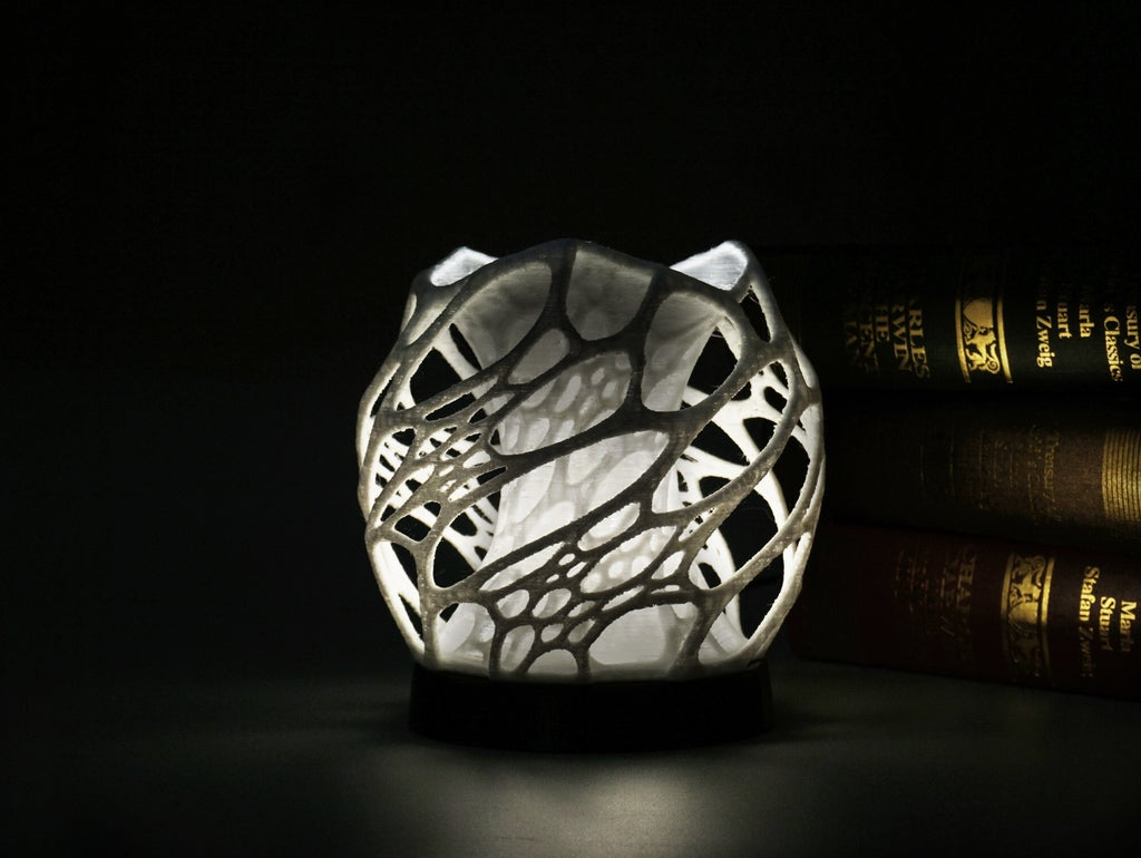 70552c68feb2492c2220aee4e6e2df47_display_large.jpg Download free STL file Solid Cellular lamp with base • 3D printer object, Toolmoon