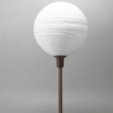 Free 3d printer files Jupiter lamp with base, Toolmoon
