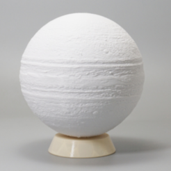 Download free 3D printer model Jupiter lamp base, Toolmoon