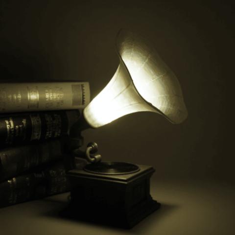 Capture d'écran 2018-06-26 à 13.25.11.png Télécharger fichier STL gratuit Lampe à gramophone • Modèle imprimable en 3D, Toolmoon