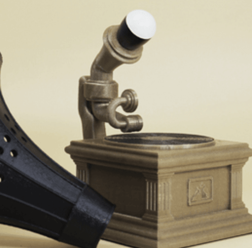 Capture d'écran 2018-06-26 à 13.24.51.png Download free STL file Gramophone lamp • 3D printable object, Toolmoon