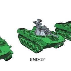 Impresiones 3D Modelos 3D BMD-1, BMD-1P, BMD-2 Modelos 3D en escala de 15mm, dr_fil