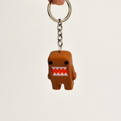 Download free 3D printer designs Domo Kun Keychain, 2be3d