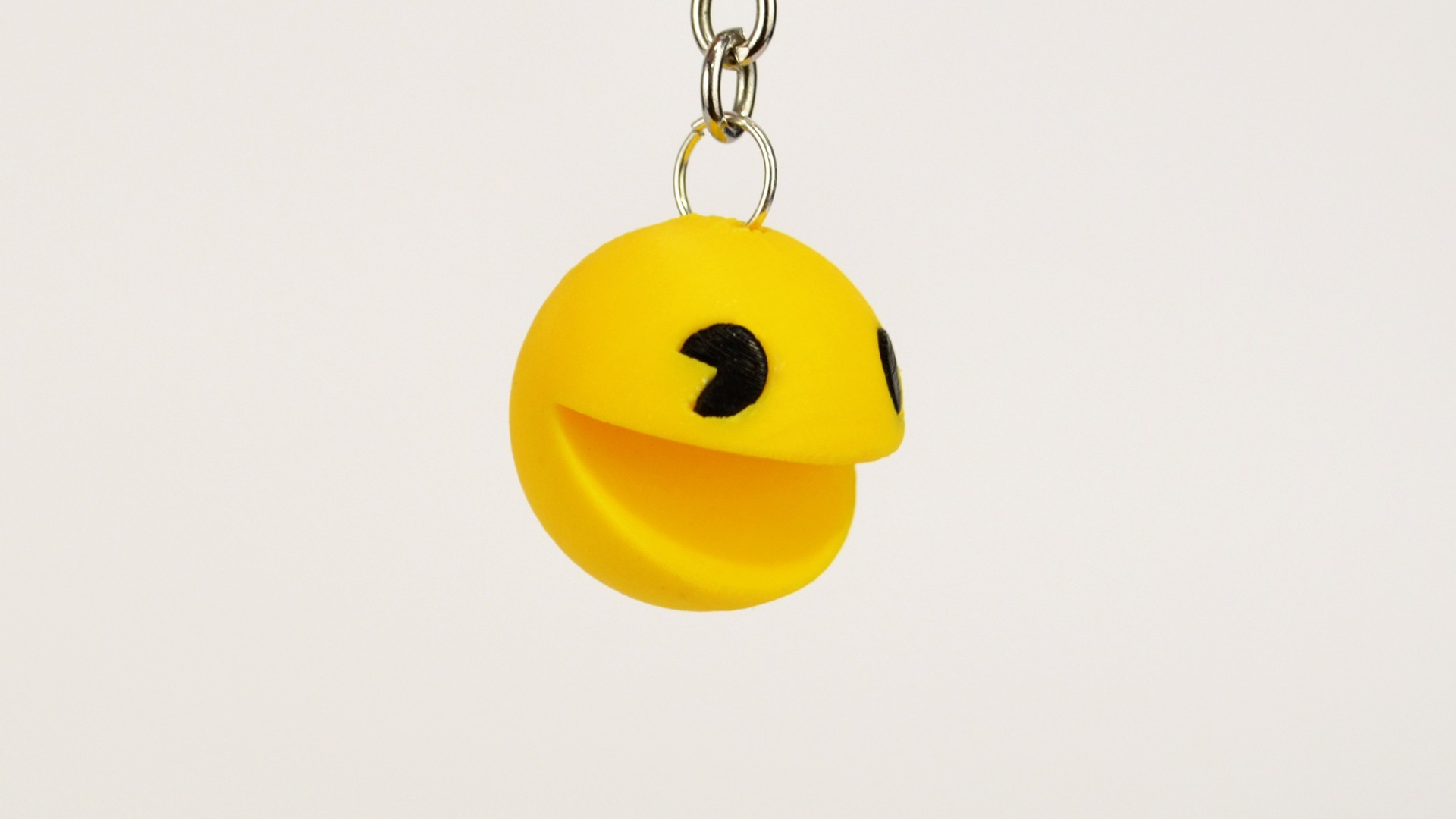 pacman_2.jpg Download free STL file Pacman Keychain • 3D printer object, 2be3d