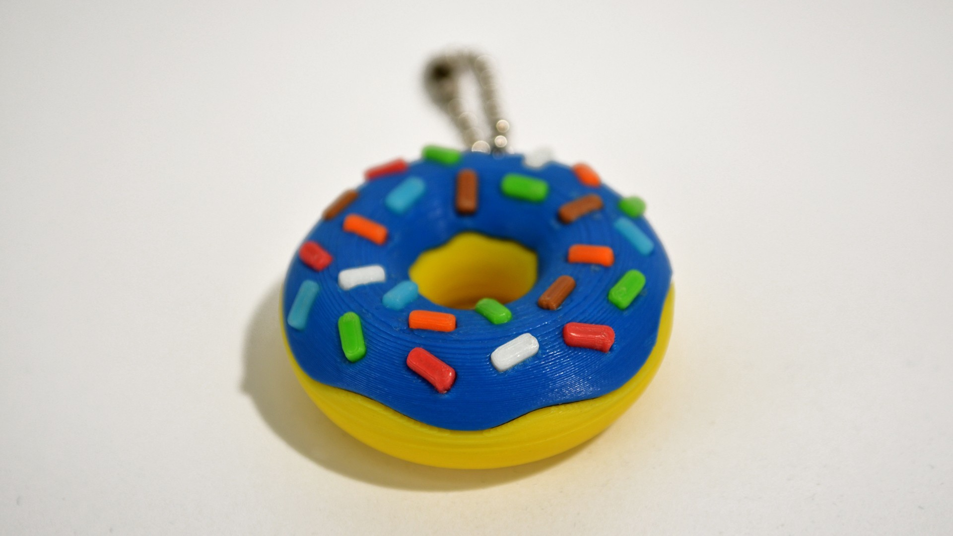 donuts_02_.jpg Download free STL file Donut Keychain • 3D printer design, 2be3d