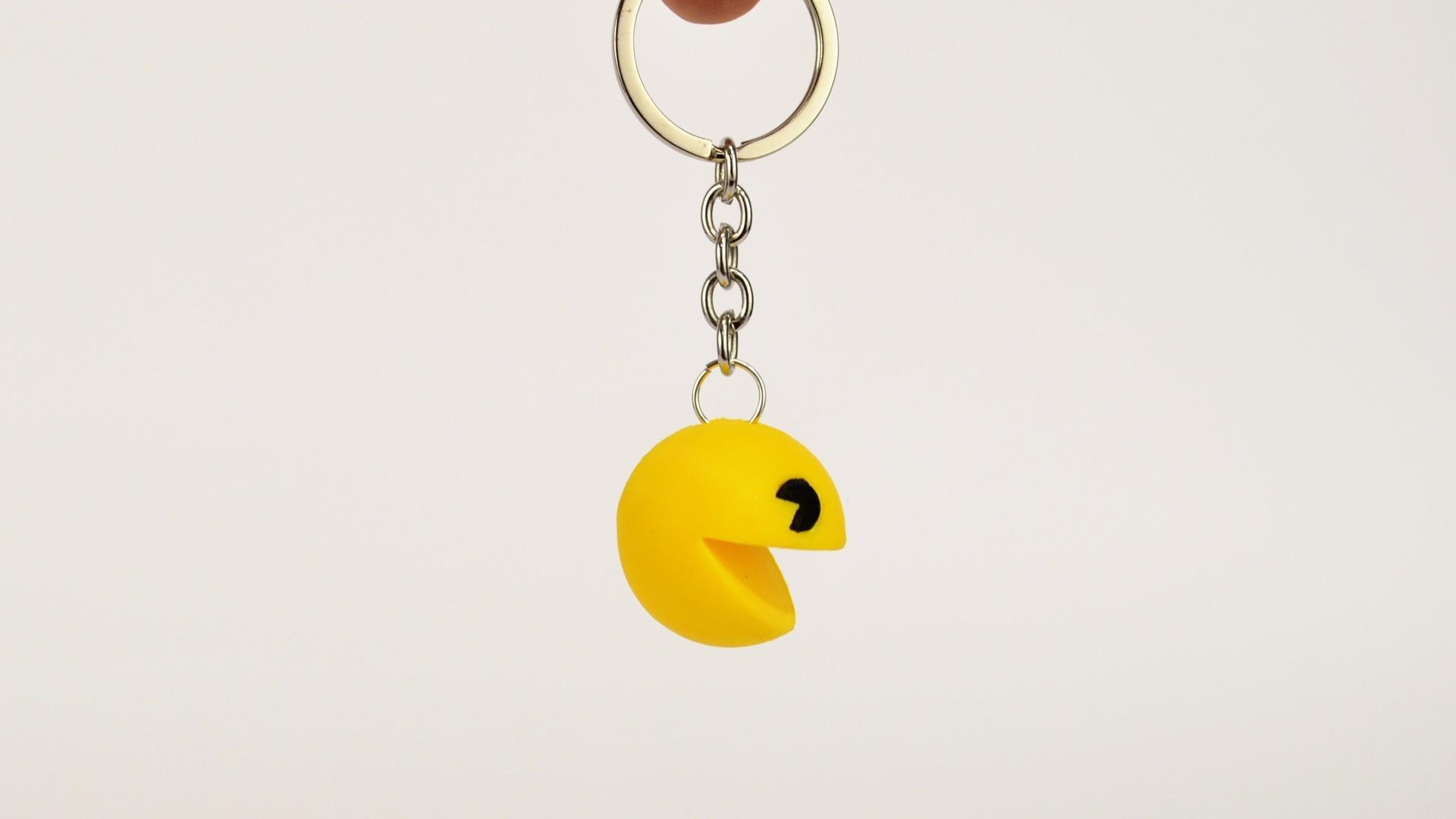 pacman_1.jpg Download free STL file Pacman Keychain • 3D printer object, 2be3d
