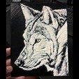 Download free 3D printer files 3D drawing WOLF (LOBO), 2be3d