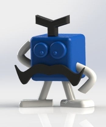 starto2.JPG Download free STL file Mr Patato STRATOMAKER • 3D printing object, boyery