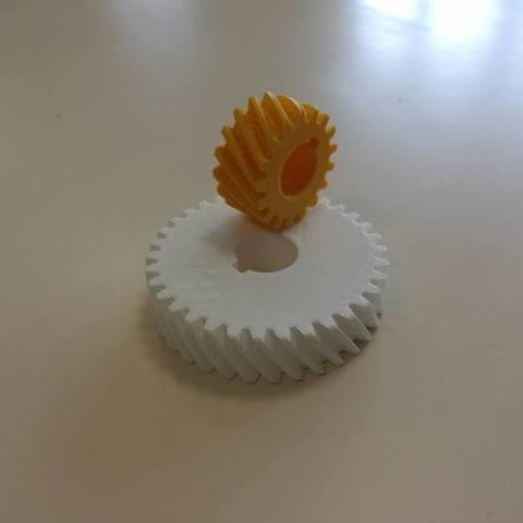 Télécharger plan imprimante 3D gatuit Engrenage (montage éducatif), boyery