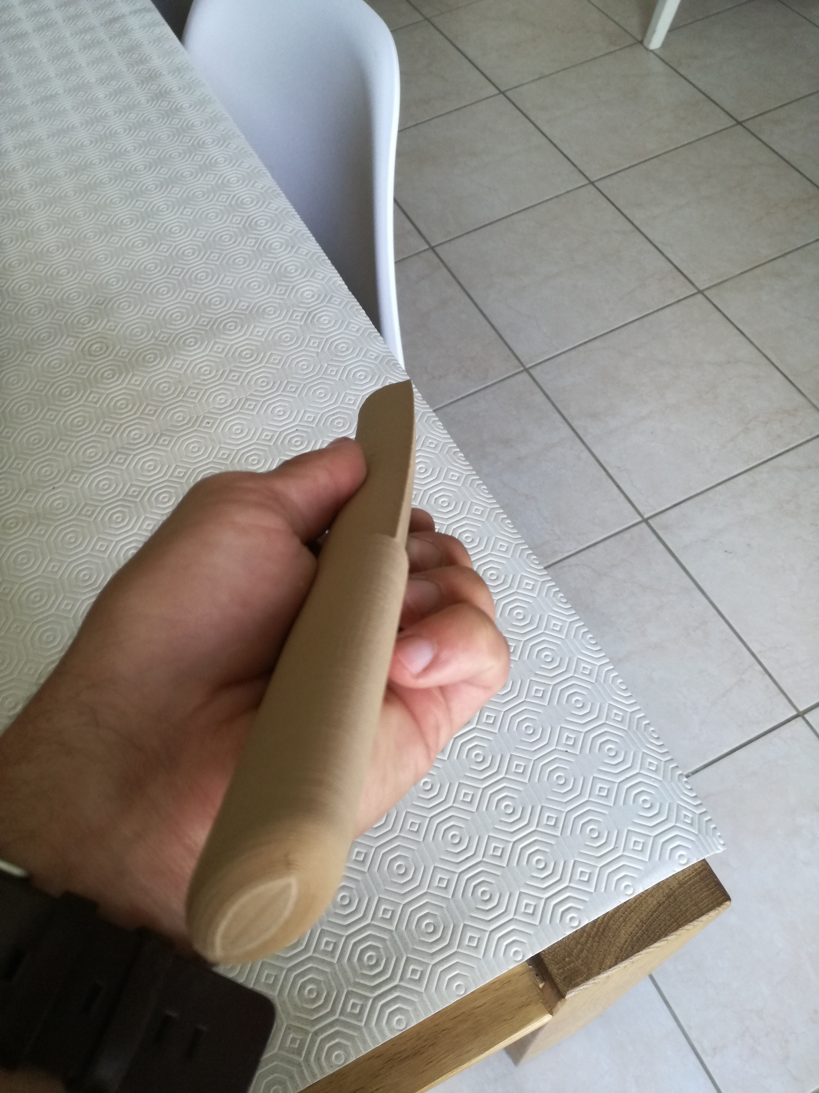 IMG_20180723_170212.jpg Download free STL file Tanto (knife) • 3D printer object, boyery