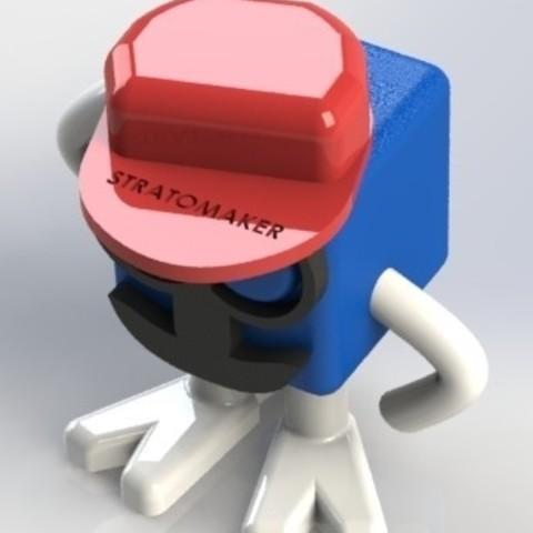 STRATO TEAM.JPG Download free STL file Mr Patato STRATOMAKER • 3D printing object, boyery