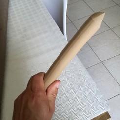 Imprimir en 3D Tanto (cuchillo), boyery
