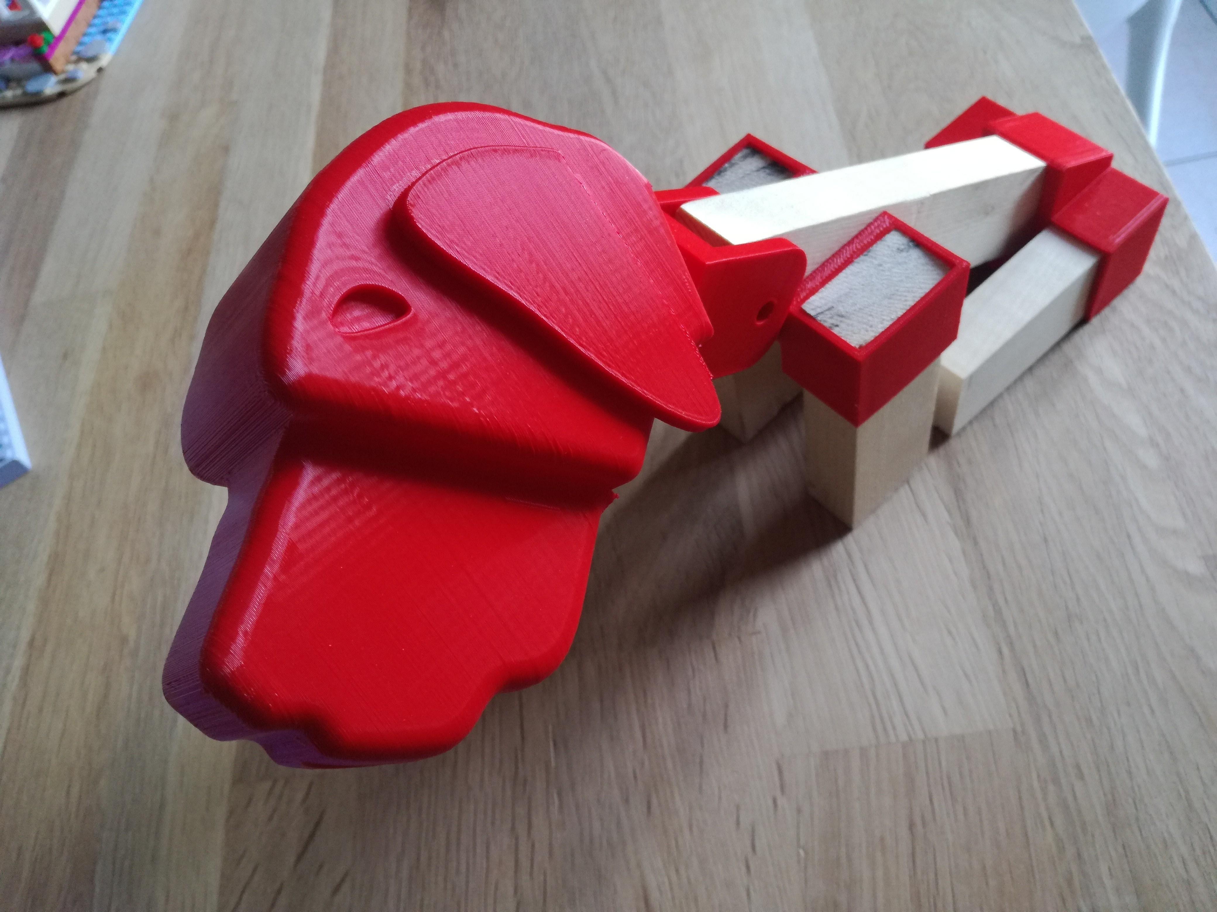 IMG_20180424_195915.jpg Download free STL file Brass dog • 3D printable template, boyery