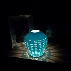 Free 3D model the lamp of original failure, lampshade, boyery