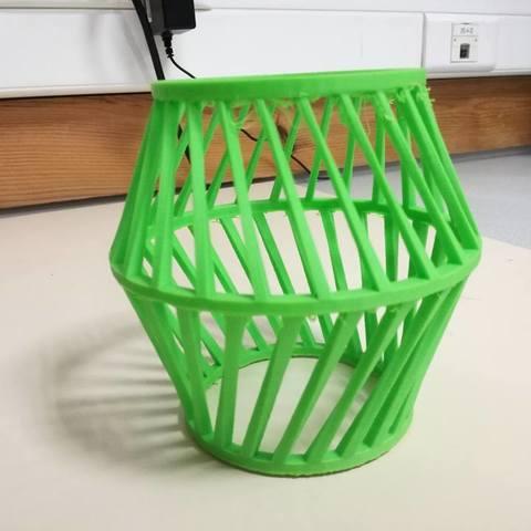 26219295_1777066799263886_6676174490619306156_n.jpg Download free STL file Lampshade / or / vase • Design to 3D print, boyery