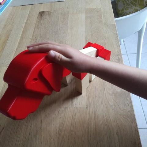 IMG_20180424_195924.jpg Download free STL file Brass dog • 3D printable template, boyery
