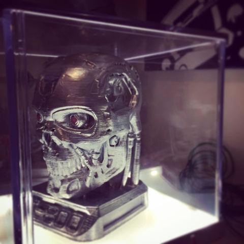 Modelos 3D para imprimir gratis terminator T-800, hugo