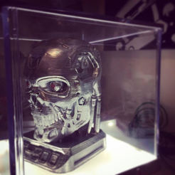 Download free STL file terminator T-800 • 3D printer design, hugo
