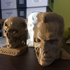 Download free STL file  Arnold/T-800 remix • Design to 3D print, hugo