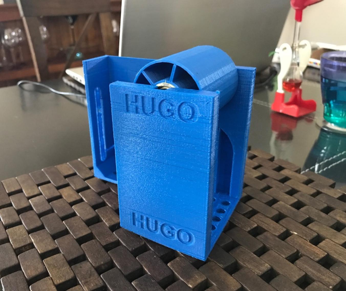 Capture d'écran 2017-06-05 à 09.45.49.png Download free STL file SPOOL HOLDER (BLUEPRINT3D EDITION) • 3D printer object, hugo