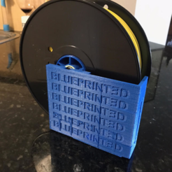 Télécharger plan imprimante 3D gatuit SUPPORT DE SPOOL (BLUEPRINT3D EDITION), hugo