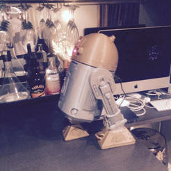 Free STL files R2D2 - This is the Droid You're Looking For, hugo