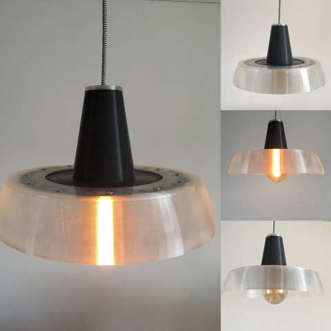 STL file industrial lamp, Byctrldesign