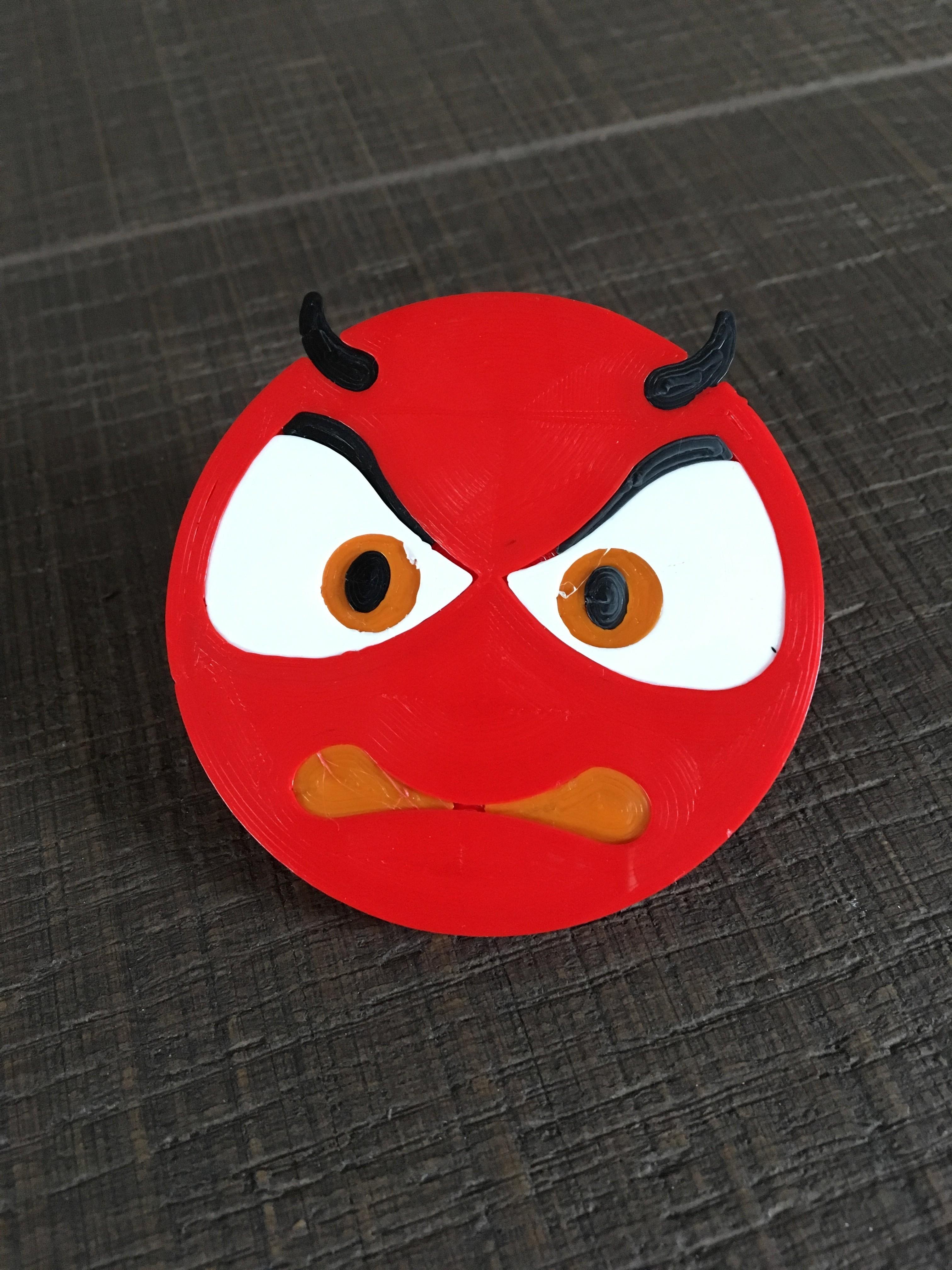 devil 2 by ctrl design.jpg Download STL file devil emoji cam cover • 3D printable design, Byctrldesign