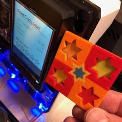 Free 3D printer files stars ranking calibration print, Byctrldesign