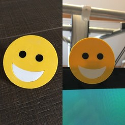 Download 3D printing files emoji smile cam cover, Byctrldesign