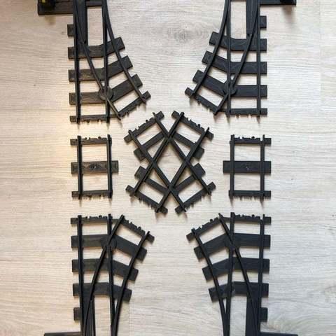 Impresiones 3D gratis Pequeño cruce de agujas, Byctrldesign