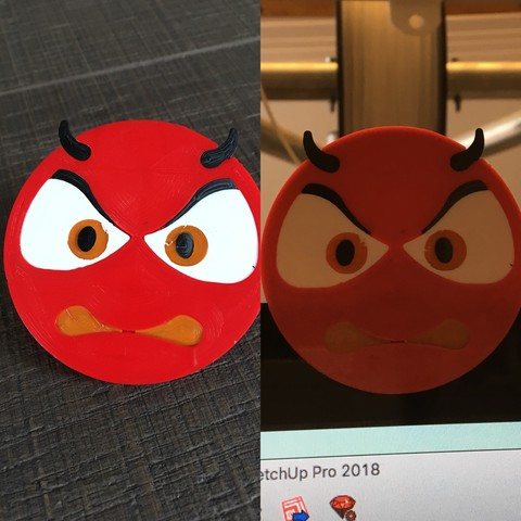 devil 3 by ctrl design.jpg Download STL file devil emoji cam cover • 3D printable design, Byctrldesign