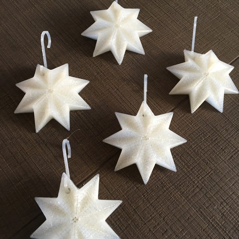 Download STL file Christmas decoration star • 3D printing template, Byctrldesign