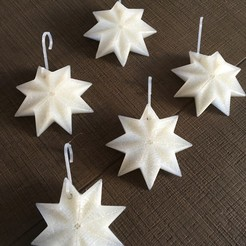 STL files Christmas decoration star, Byctrldesign