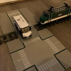 IMG_9669.jpeg Télécharger fichier STL passage à niveau simple • Plan pour imprimante 3D, Byctrldesign